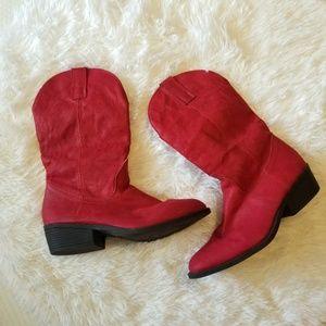 Red Rampage Walden Cowboy Boots